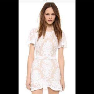 White for love and lemons San Marcos dress.